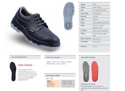 Mekap Basic 070R S1 Siyah Çelik Burunlu - Thumbnail