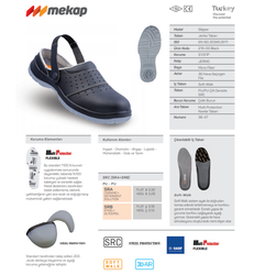 Mekap Slipper 210-03 S1 Siyah - Thumbnail